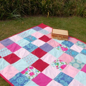 DIY Picnic Rug Tutorial