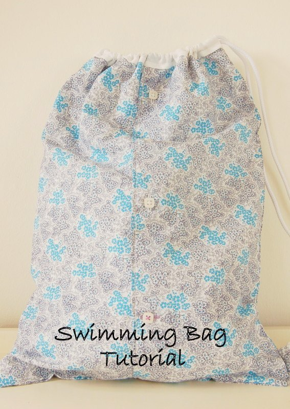 Drawstring Waterproof Swimming Bag Tutorial
