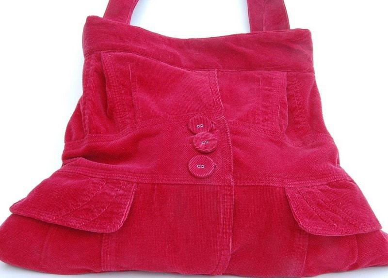 Jacket Bag Tutorial.. Recycled Bag