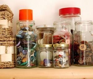 Button storage