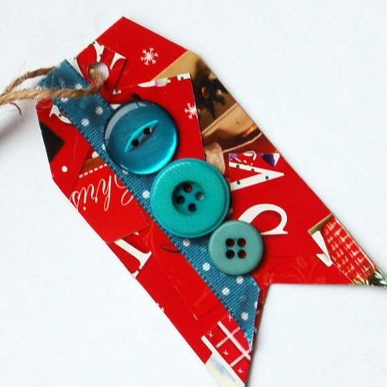 Gift Tag plea.. create your own upcycled gift tags