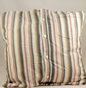 Shirt Cushion Cover Tutorial
