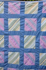 Recycled Shirt Quilt