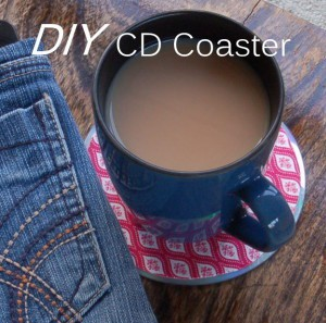 DIY CD Coaster