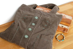 Khaki Jacket Bag