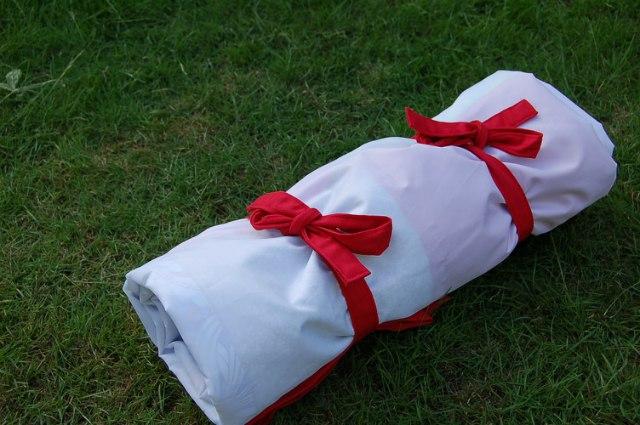 DIY picnic rug