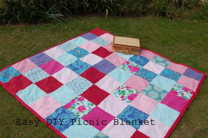 Picnic Blanket Tutorial