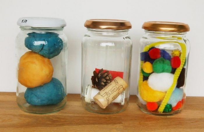 Creative Play Jam Jars