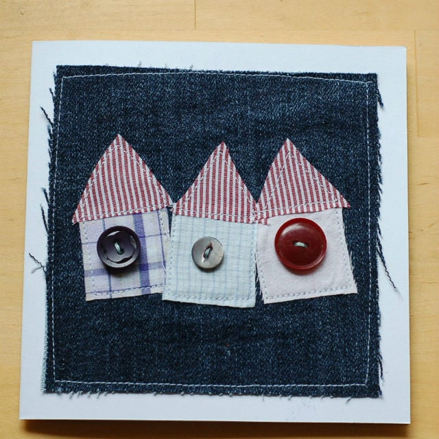 Handmade Applique Card