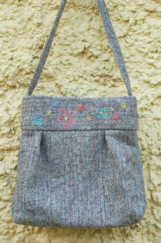 Tutorial Tweed Bag