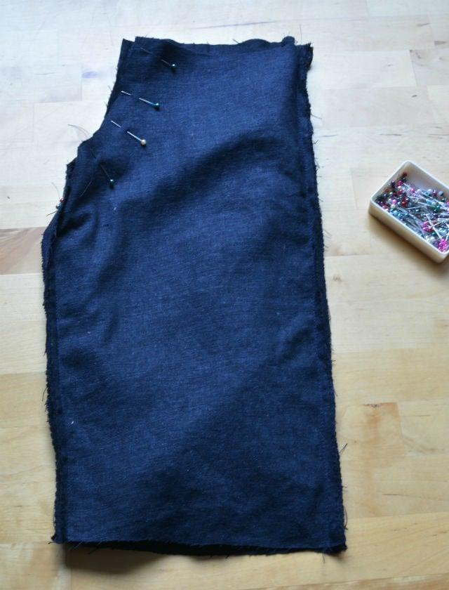Cargo Pants step 2