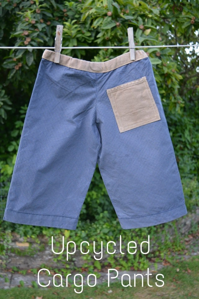 Upcycled Cargo Pants