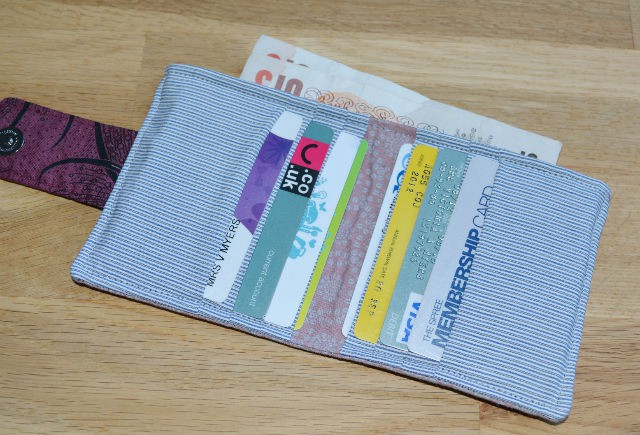 Fabric wallet 1