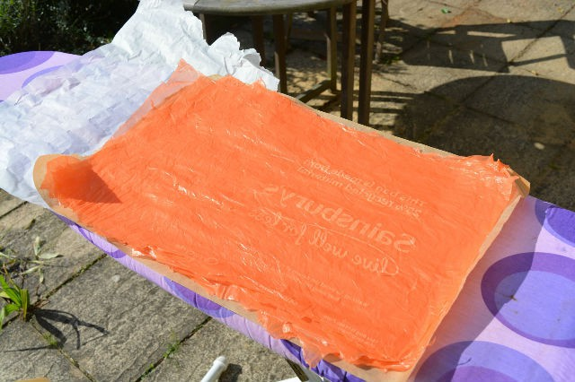 Layer plastic