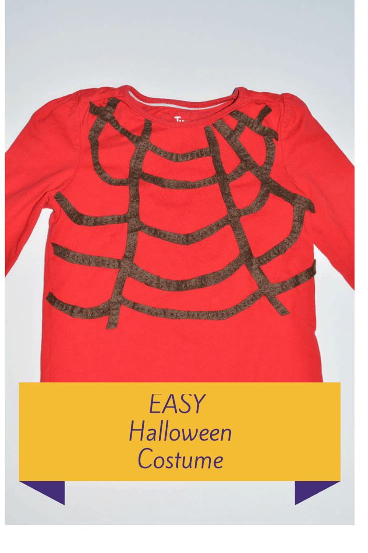 Quick & Easy Halloween Spider Costume