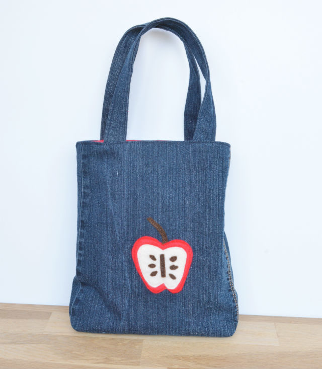 Denim Toddler Bag - free pattern