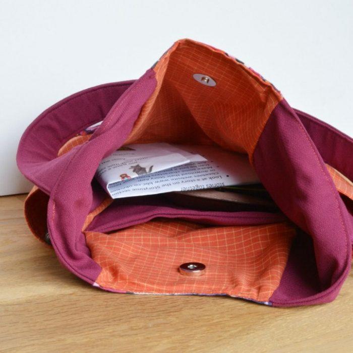 Inside Noodlehead bag