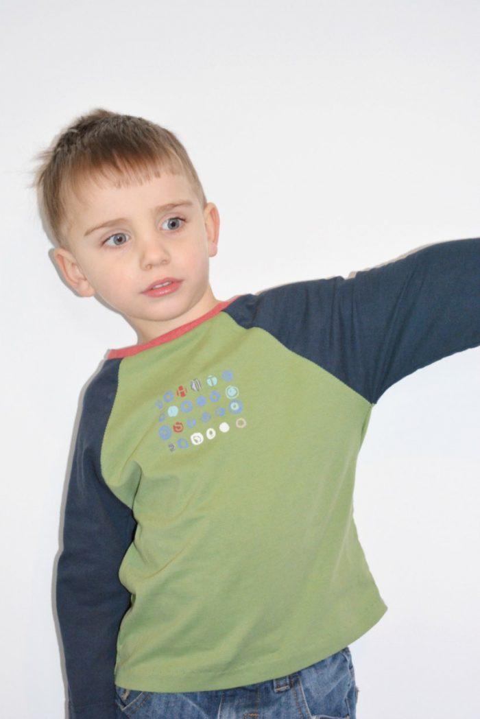 Raglan T Shirt – Kids Clothes Week – Upcycling