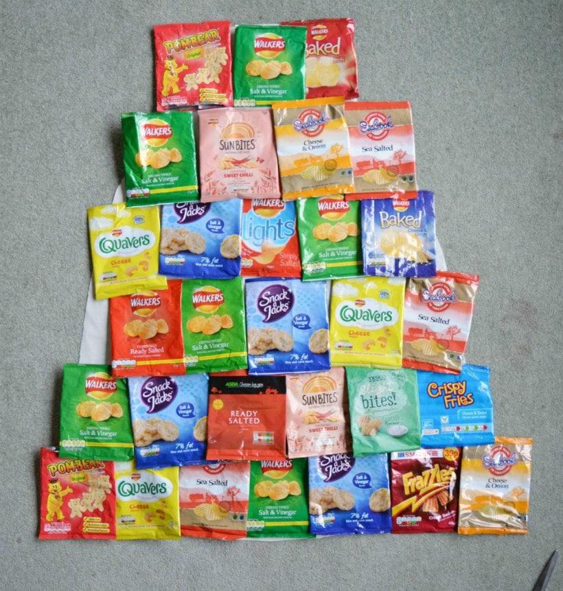 Crisp Packet Layout