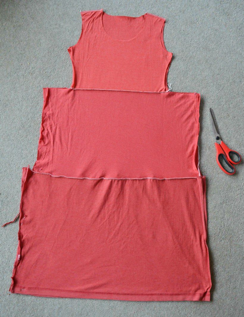 Diy t shirt sundress kids clothes week vicky myers for Fabric for kids clothes
