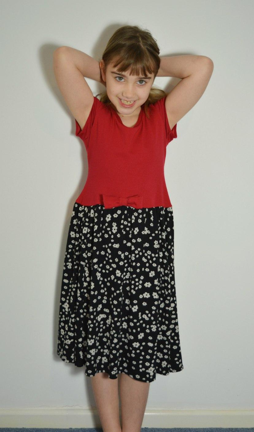 T Shirt Dress DIY, Kids Clothes Week – Upcycling