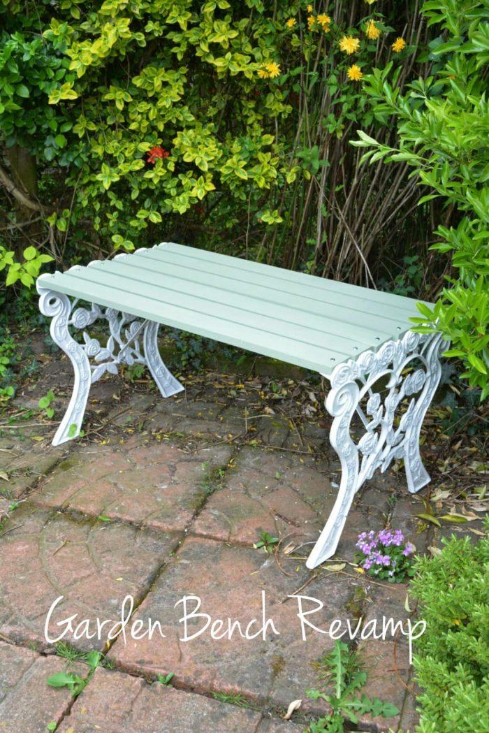 Reloved garden bench