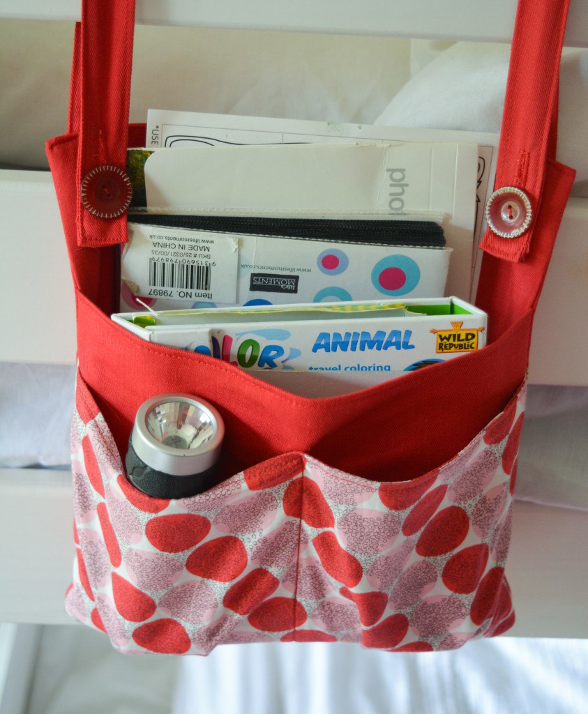 diy bunk bed storage bag organizer vicky myers creations