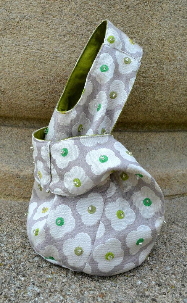 Japanese Knot Bag - free bag patterns