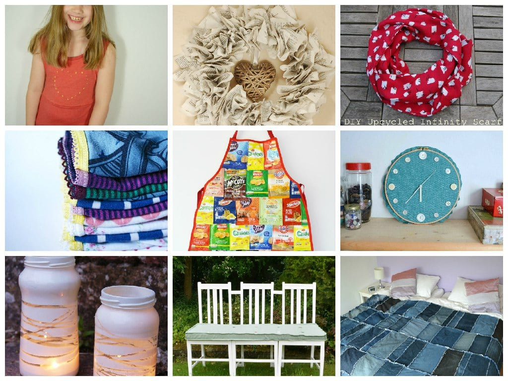 Fabulous Upcycling Ideas with Tutorials