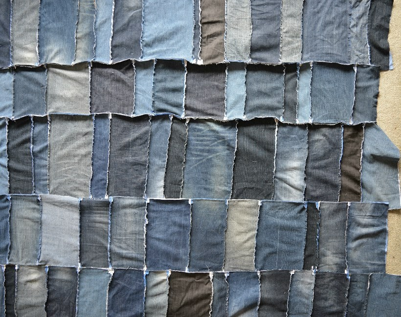 denim panels