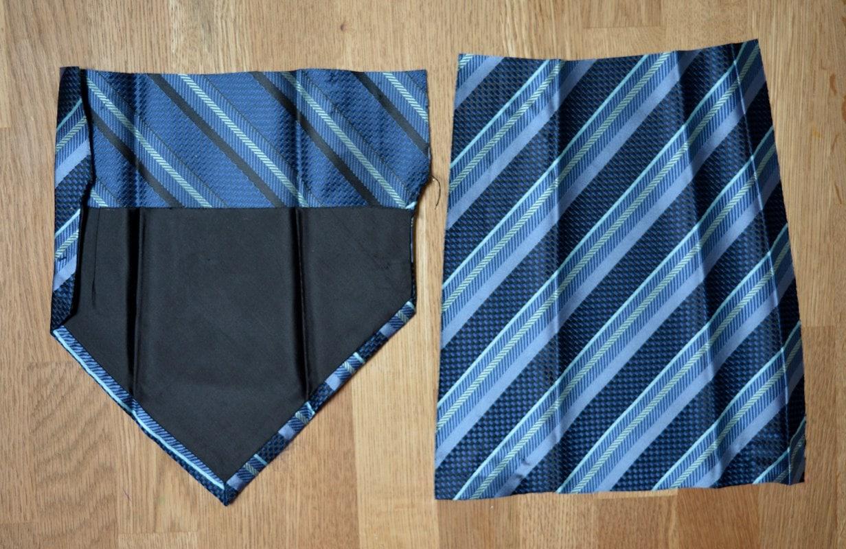Tie cut into 25 cm pieces