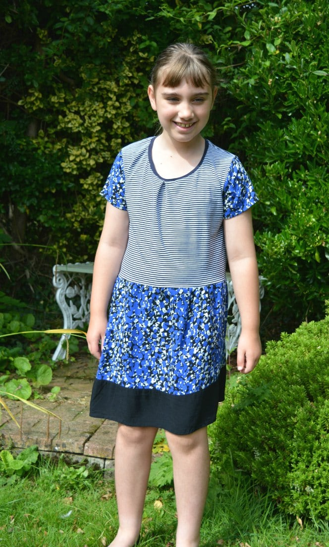 Refashion – Floral and Stripes Combo