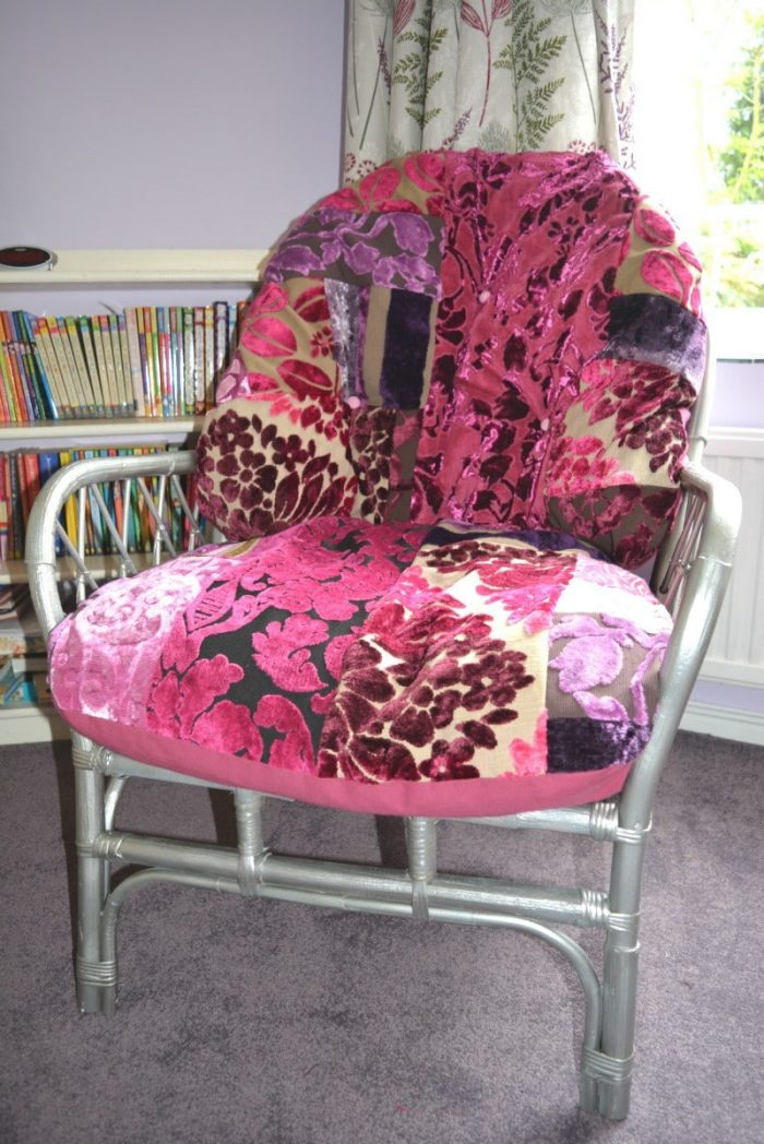 Transform a wicker chair