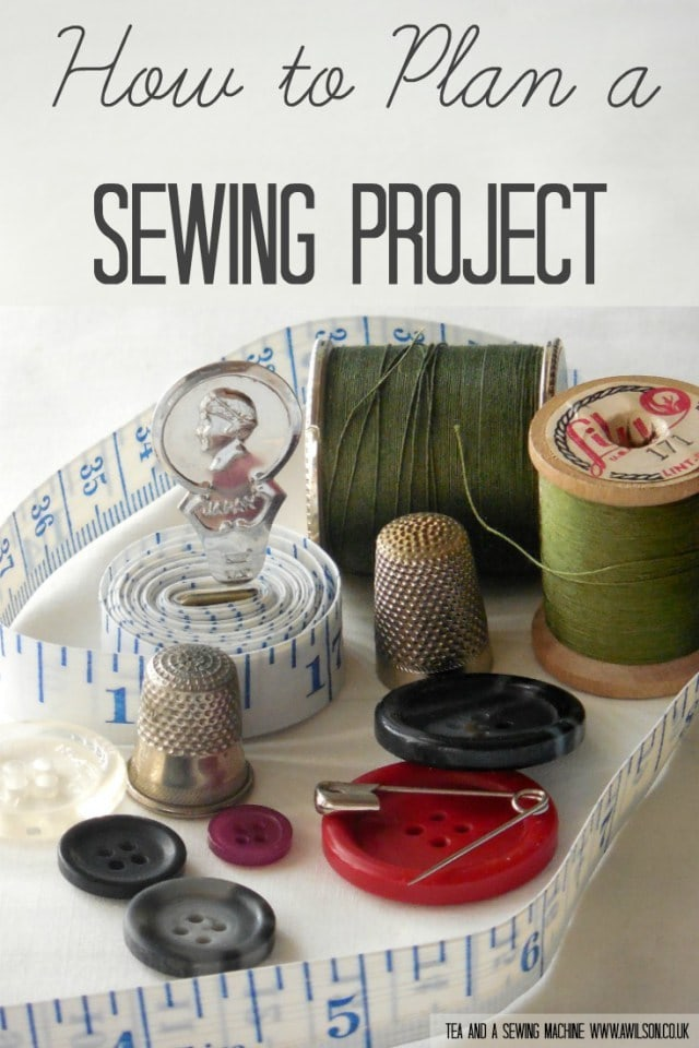 hot to plan a sewing project