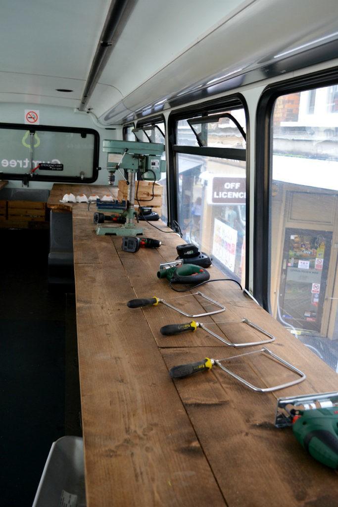 #upcycledrevolution upcycling bus