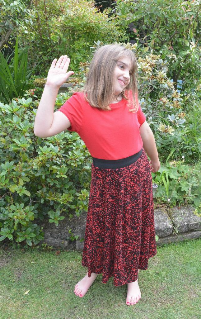 refashion a skirt