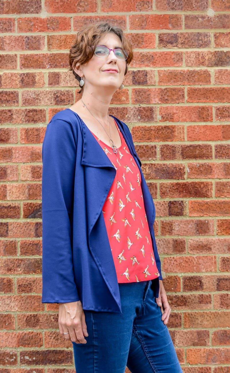 Sew up a cardigan in an hour! Plus Giveaway