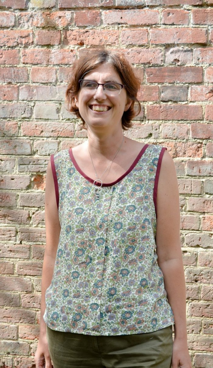 Summer top – free pattern review