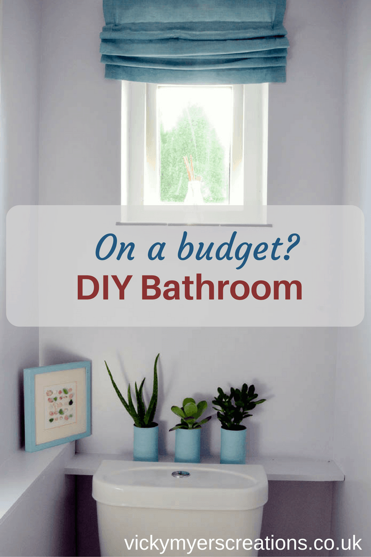 Bathroom decor – have thrifty fun styling your small toilet