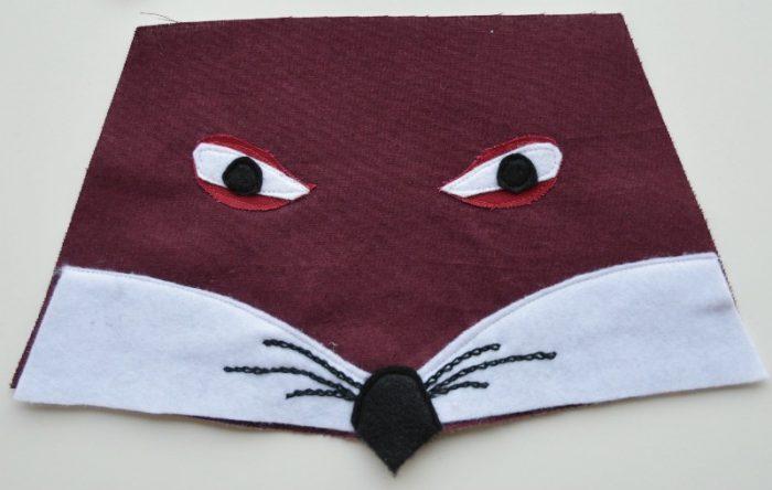 fox-face-applique-design