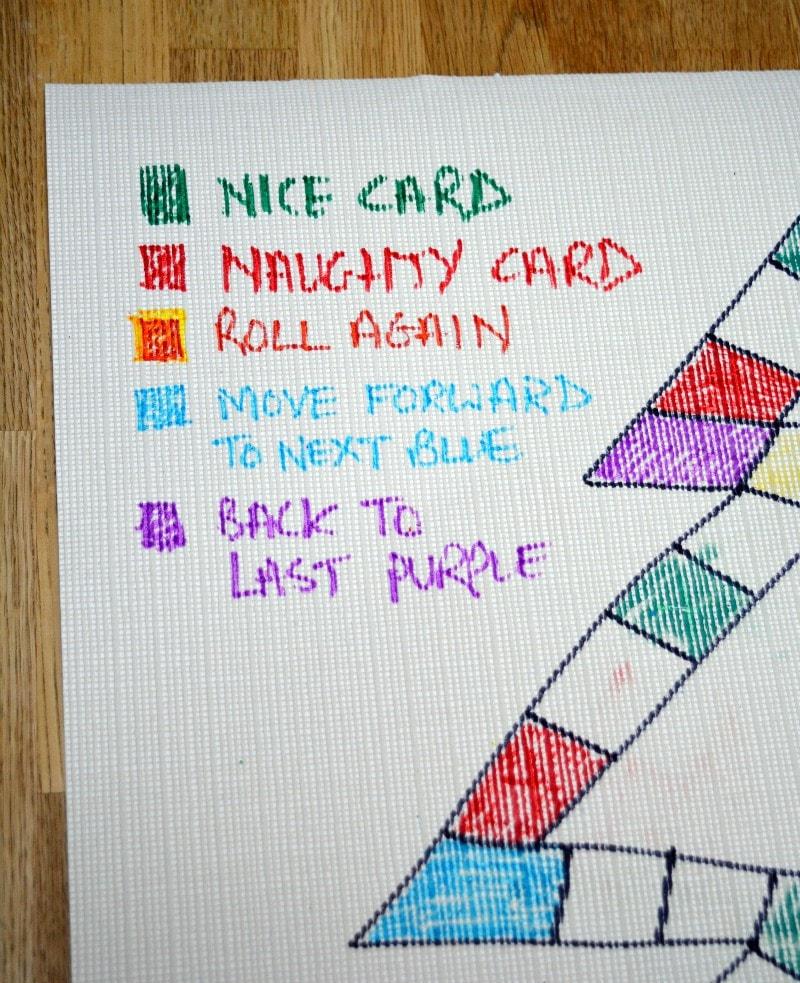 Make your own family naughty and nice Christmas game