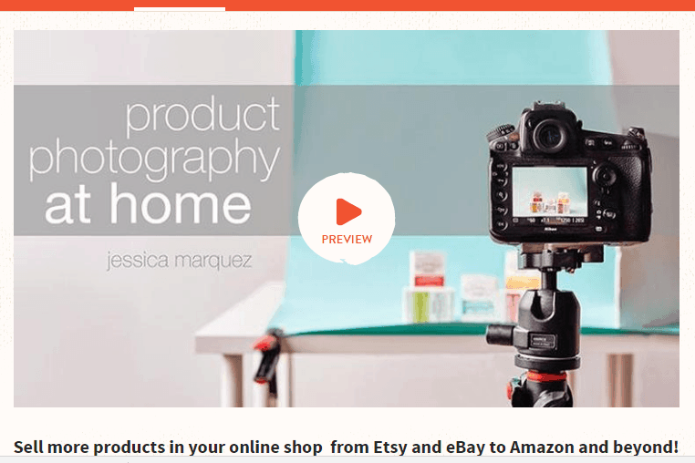 Product Photography At Home, Craftsy Class – Review