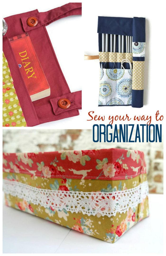 Sewing your way to organization