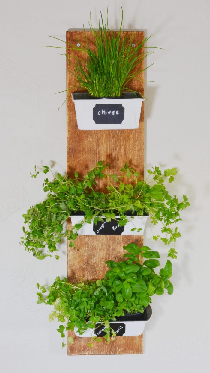 DIY Recycled Planter, DIY Herb planter