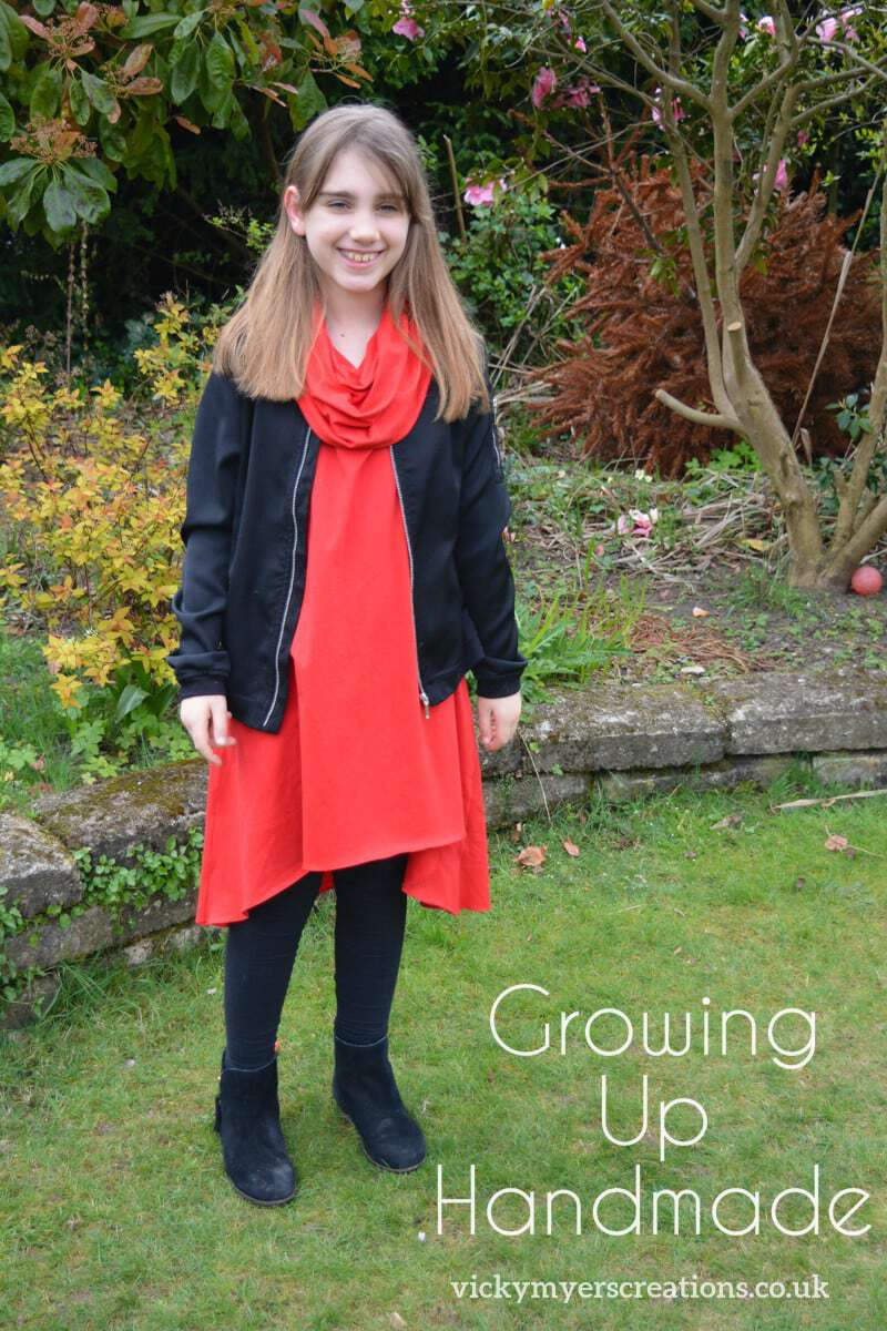 Sewing for a tween – Growing Up Handmade Blog Tour