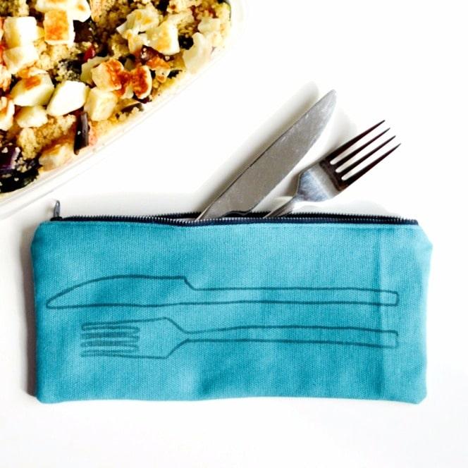 Cutlery bag DIY Sewing tutorial