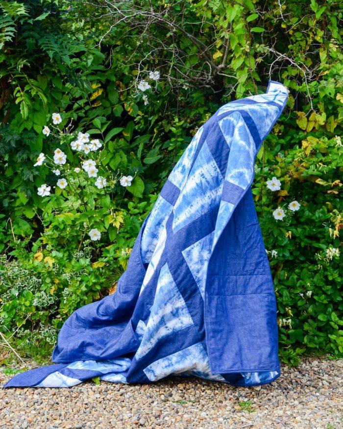 DIY shibori quilt How to make a Shibori quilt,