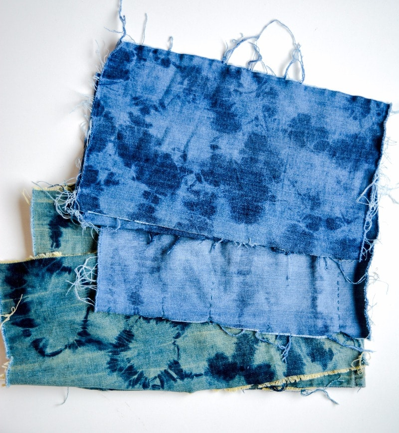 How to make a Denim Floor Cushion vicky myers creations