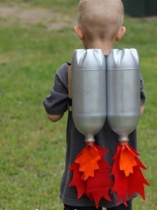 DIY rocket costume