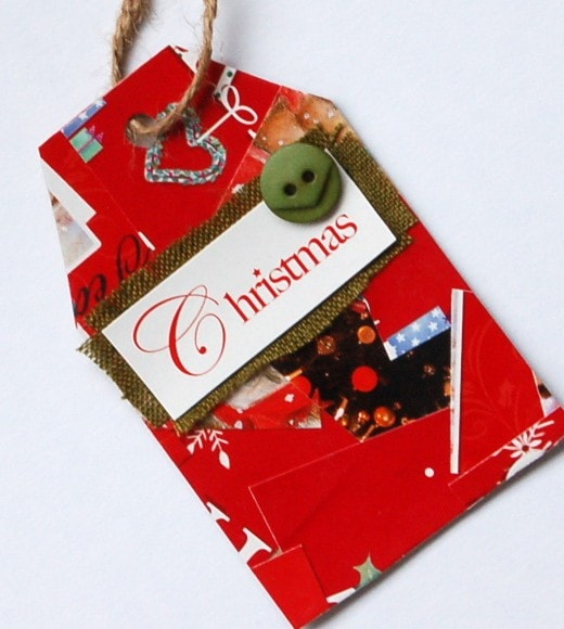 gift tag plea create your own upcycled gift tags vicky myers